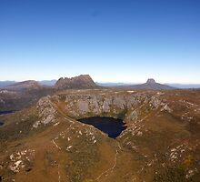 Beautiful Tasmania - flying round Cradle Mountain by georgieboy98