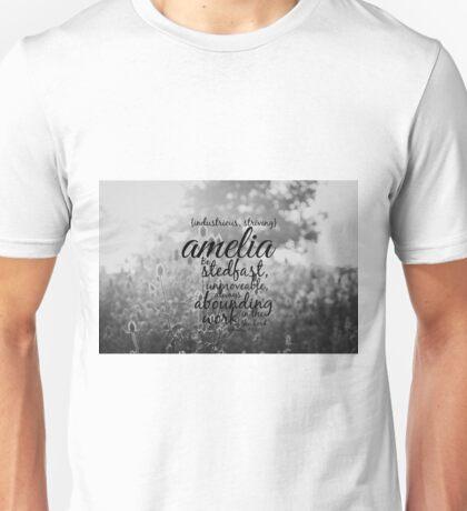Amelia  Unisex T-Shirt