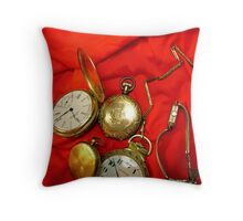 Time Peace Throw Pillow