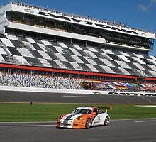 Alliance Autosport #12 Porsche GT3 Cup at Daytona International Speedway by DanaSchultz