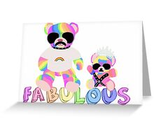 Gay Bears Greeting Card