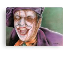 The Melting Joker Canvas Print