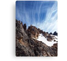 Cerro Catedral Ridge , Argentinian Andes Canvas Print