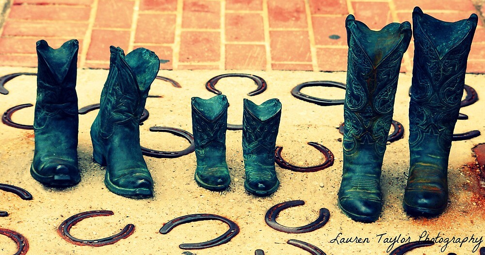 These Boots Are Made For Walkin' by Taylor Russell