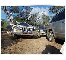 Subarus at Manyuering spring Poster