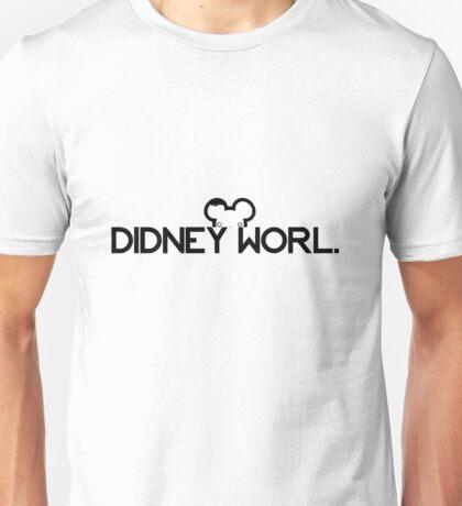 DIDNEY WORL. Unisex T-Shirt