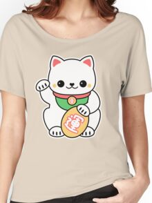 Kawaii Maneki Neko Women's Relaxed Fit T-Shirt