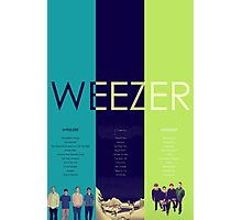 Blue To Green: Weezer's First 3 Albums Photographic Print