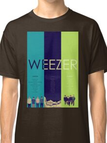Blue To Green: Weezer's First 3 Albums Classic T-Shirt