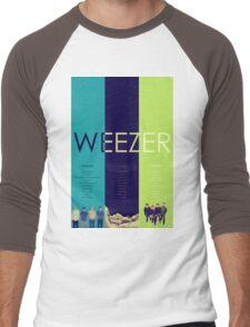 Blue To Green: Weezer's First 3 Albums Men's Baseball ¾ T-Shirt