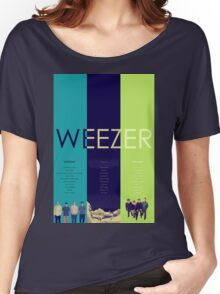 Blue To Green: Weezer's First 3 Albums Women's Relaxed Fit T-Shirt