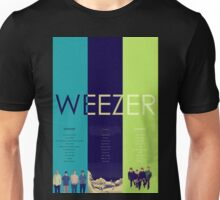 Blue To Green: Weezer's First 3 Albums Unisex T-Shirt