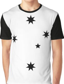Southern Cross - Black ink Graphic T-Shirt