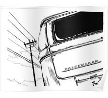 Bay Bus...........from drawing that i did Poster