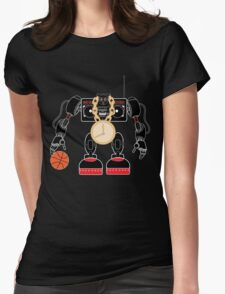 BRO-BOT Womens Fitted T-Shirt