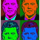 JFK-35 (POP-ART) by OTIS PORRITT