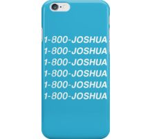 SEVENTEEN 1-800-JOSHUA iPhone Case/Skin