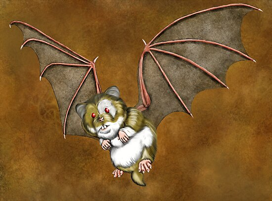 Beware the vampire hamster by ChaostheRed