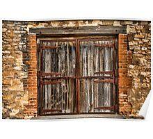 Rural Barn Door Poster