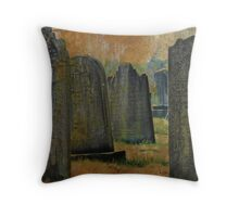 Tombstone Territory Throw Pillow