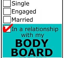In A Relationship With My Body Board by cmmei
