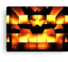 Orange Crown Canvas Print