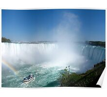 One of the 7 natural wonders in the world - Niagara Falls Poster