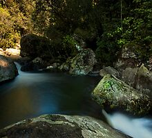 Kaiate lower pools by Ken Wright
