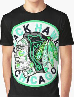 BLACKHAWKS BLACK Graphic T-Shirt