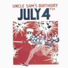 4th of July - Uncle Sam by taiche