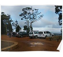 Parked on top of Mt Dale Poster