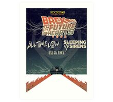 ALL TIME LOW SWS SLEEPING WITH SIRENS Future Hearts Tour REY1 Art Print
