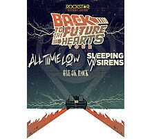 ALL TIME LOW SWS SLEEPING WITH SIRENS Future Hearts Tour REY1 Photographic Print