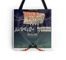 ALL TIME LOW SWS SLEEPING WITH SIRENS Future Hearts Tour REY1 Tote Bag
