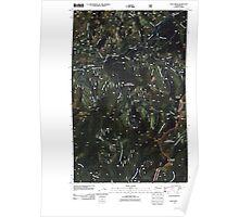 USGS Topo Map Washington State WA Pass Creek 20110428 TM Poster