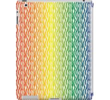 Rainbow Zebra Pattern Print iPad Case/Skin