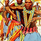 Ceremonial dance  by goldyparazi