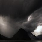 The Dark Side of Milford Sound by Michael Treloar