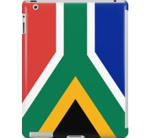National flag of the Republic of South Africa Authentic version iPad Case/Skin