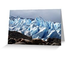 Viedma Glacier Greeting Card