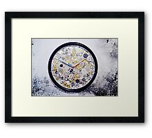 clock clocks Framed Print