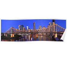 Story Bridge, Brisbane, Queensland, Australia Poster