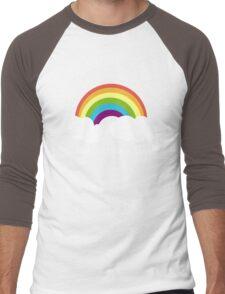 Love is Love is Love- Rainbow Men's Baseball ¾ T-Shirt