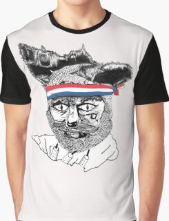 Crack Fox Graphic T-Shirt