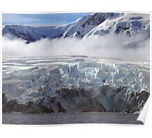 Wilhelmina bay,  Antarctic Peninsula Poster