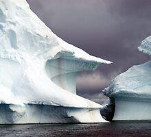 Iceberg    Antarctic Peninsula by geophotographic
