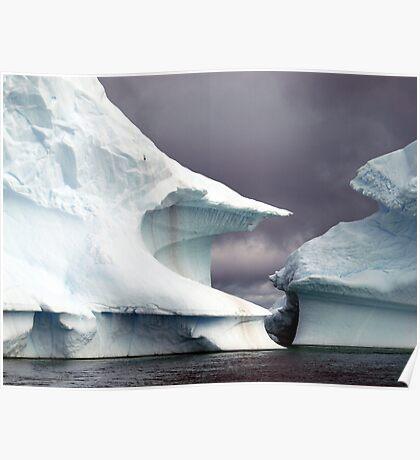 Iceberg    Antarctic Peninsula Poster