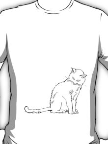 Regular sized Cat T-Shirt