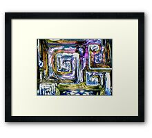 Bismuth As Usual Framed Print