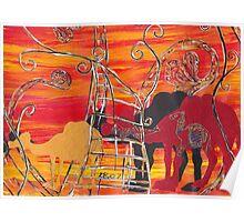Camel Carnival Poster